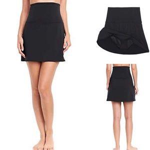 NWOT St John's Bay High Waist Swim Skirt